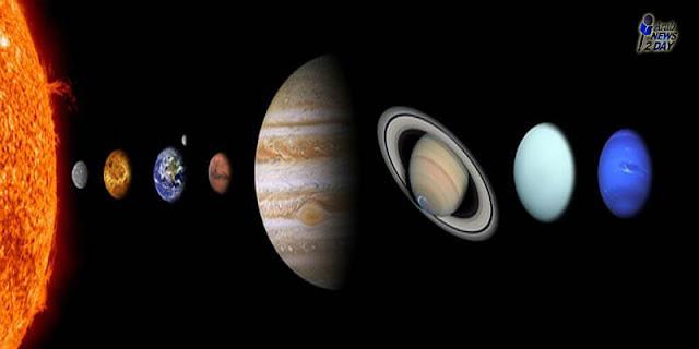 على احد الكواكب البعيدة تتساقط امطار من الحديد السائل ..