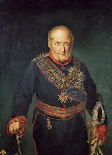 An 1829 portrait of Francis I of the Two Sicilies by Vicente López Portaña