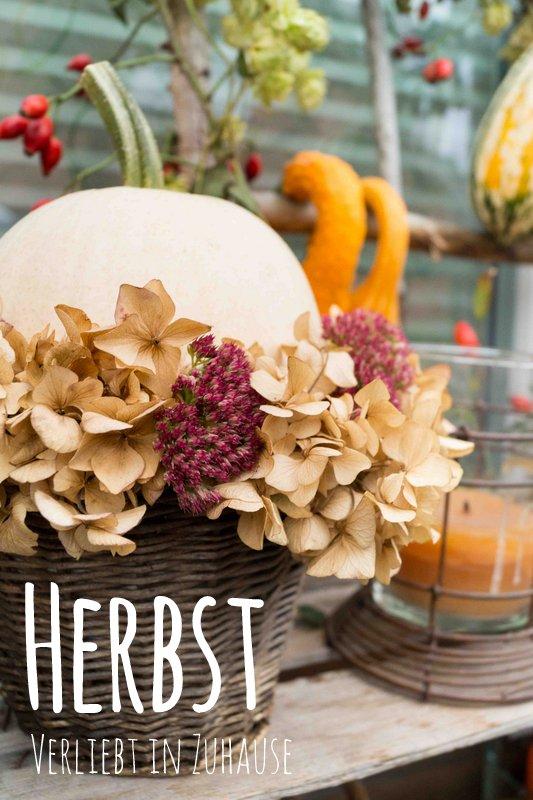Herbst Deko verliebt in zuhause ideen und inspiration für ein klitzekleines