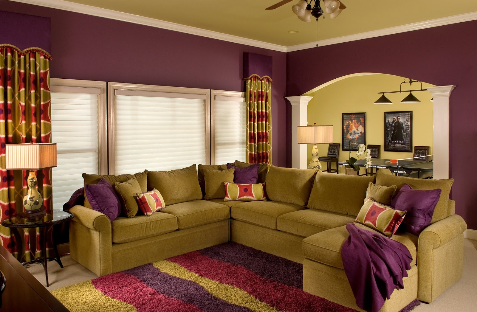 60+ Wall Paint and Decoration Ideas for Living Room