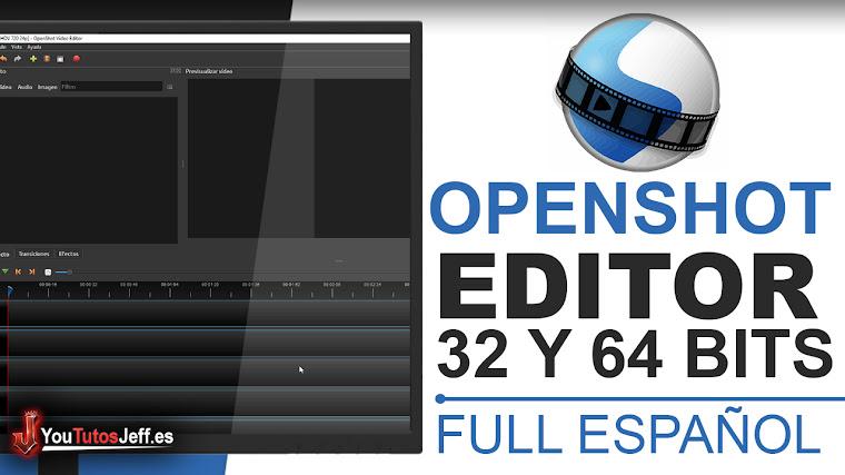 Como Descargar Openshot Ultima Versión Full Español - Impresionante editor de vídeos