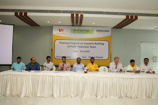 Senior Leaders of the duo inaugurated the State-Of-The-Art Farmers Training Cum Resource Centre in the Gunaga Village of Bhopal, Madhya Pradesh