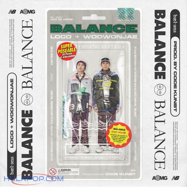 Loco & Woo Won Jae – Balance (Prod. By CODE KUNST) – Single (ITUNES MATCH AAC M4A)