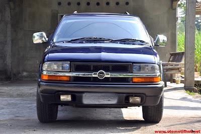 Sejarah Opel Blazer di Indonesia