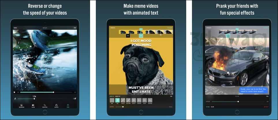 التطبيق الثانى: Videorama Text & Video Editor