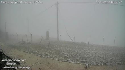 Έπεσαν τα πρώτα χιόνια στις βουνοκορφές της Καρδίτσας
