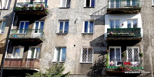 Warszawa Warsaw kamienice kamienica Praga Północ praskie klimaty architektura zabudowa balkon
