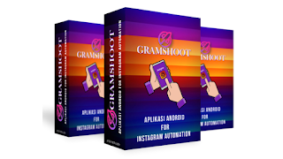 GRAMSHOOT - Aplikasi Naikkan Follower Instagram