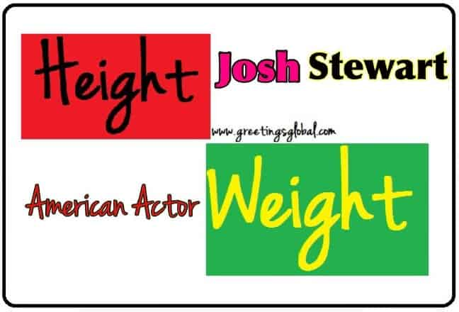 josh stewart barsad height
