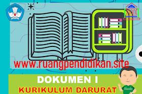 Contoh Dokumen I Kurikulum  Darurat Jenjang SMP Tahun Ajaran 2021/2022