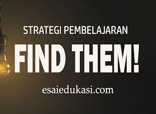 permaian dan strategi pembelajaran find them