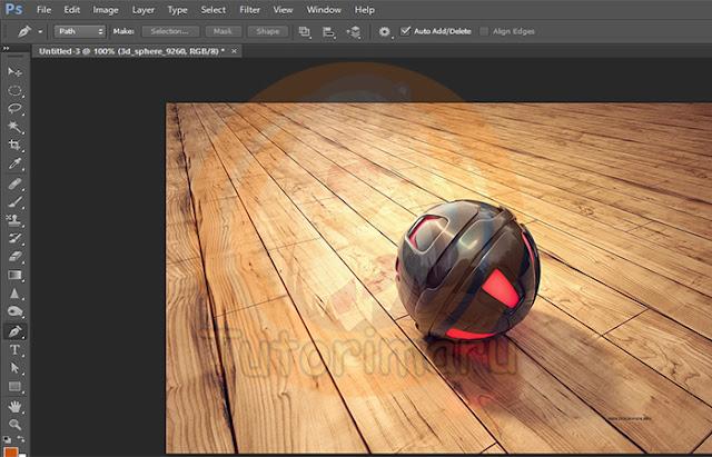 Cara Memotong Objek Gambar di Photoshop - Tutorimaru's Tutorial