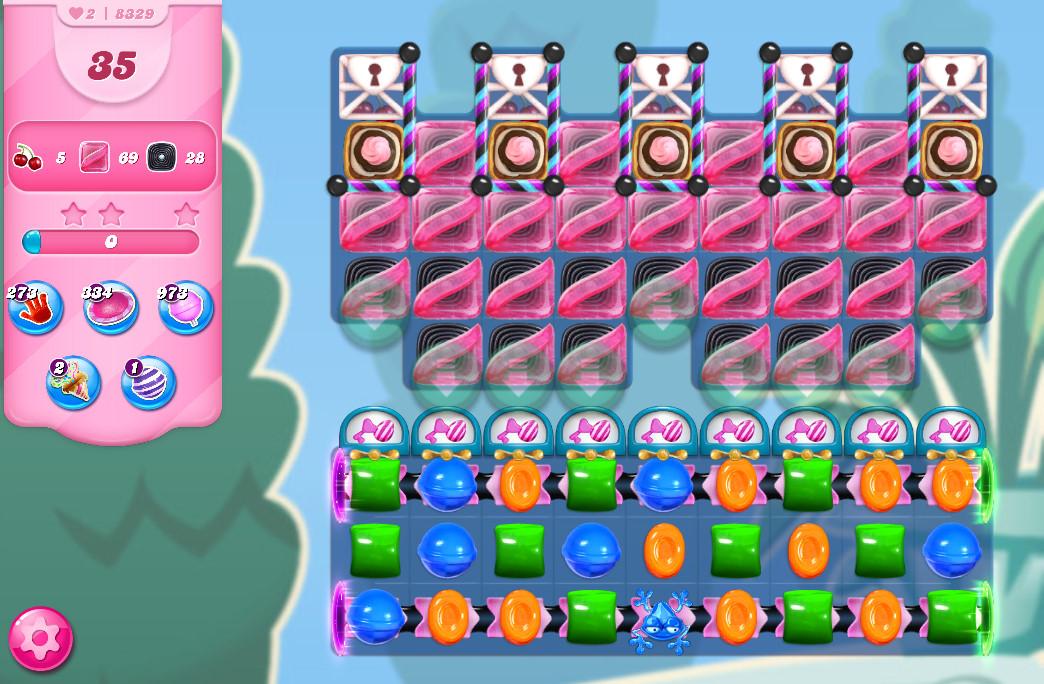 Candy Crush Saga level 8329