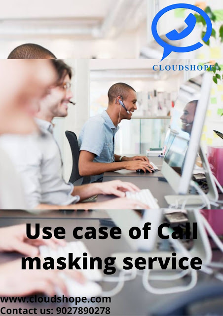 Use case of Call masking service