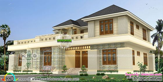 3500 square feet 4 bedroom modern house plan