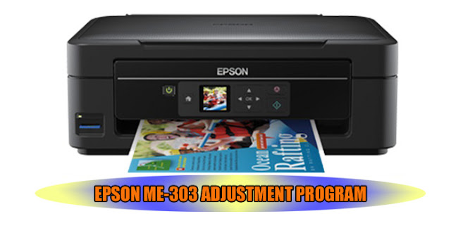 EPSON ME-303 PRINTER ADJUSTMENT PROGRAM