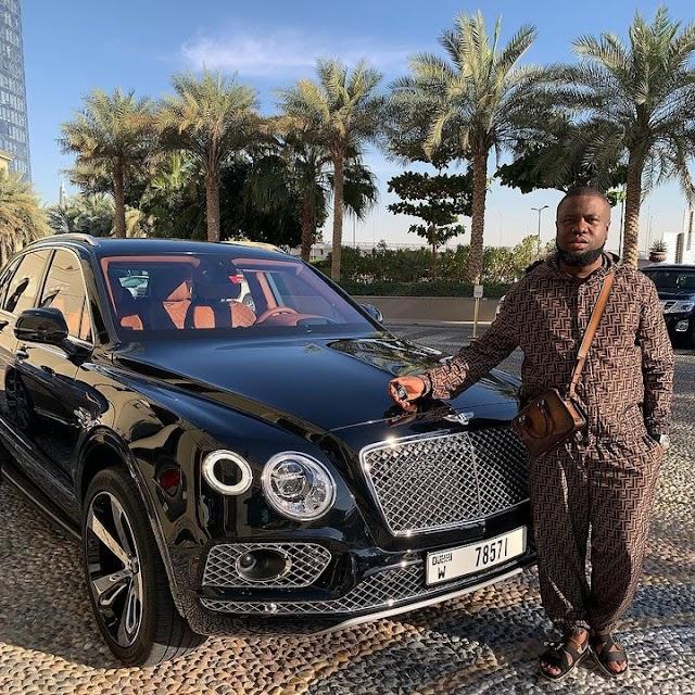 Ray Hushpuppi Buys Bentley Bentayga For Valentines (photos)