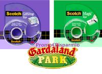 Logo Concorso ''Scotch Christmas Promotion'' : vinci kit da 4 biglietti per Gardaland Park