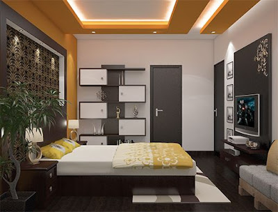 Modern bed room wall paint colors combinations ideas 2019
