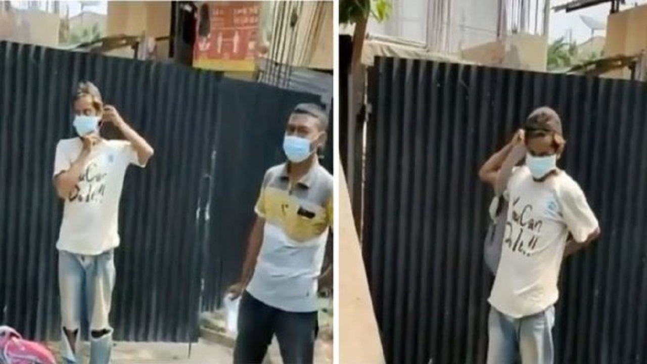 Viral Video Kuli Bangunan Tak Pakai Masker Langsung Dipecat Tuai Pro Kontra