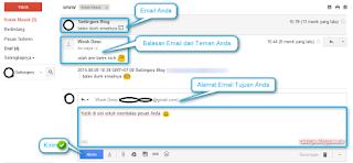 Cara membalas email di gmail terbaru