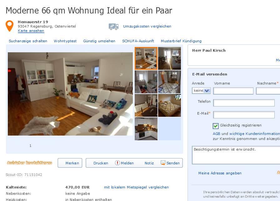 alias herr paul kirsch moderne 66 qm wohnung ideal f r ein paar. Black Bedroom Furniture Sets. Home Design Ideas