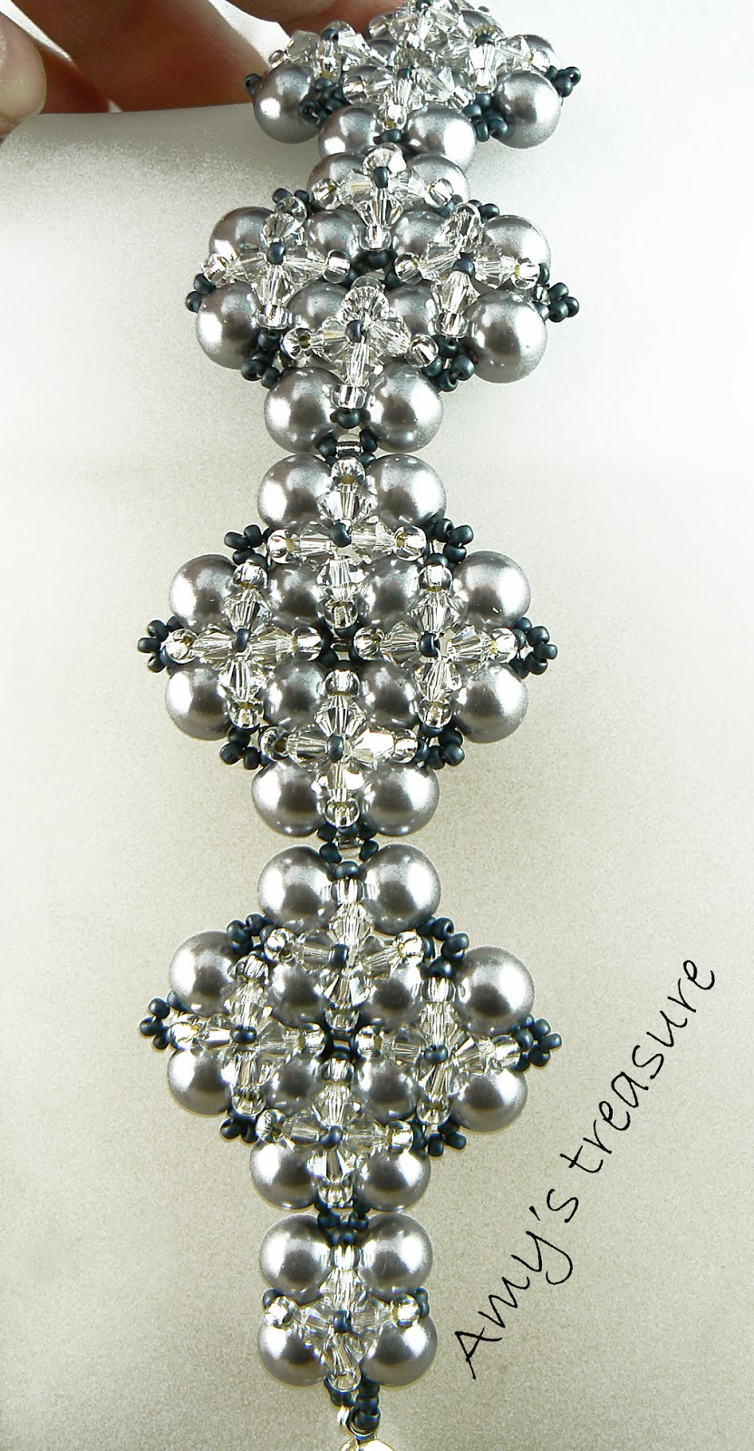 Amy's treasure: Winterglow bracelet