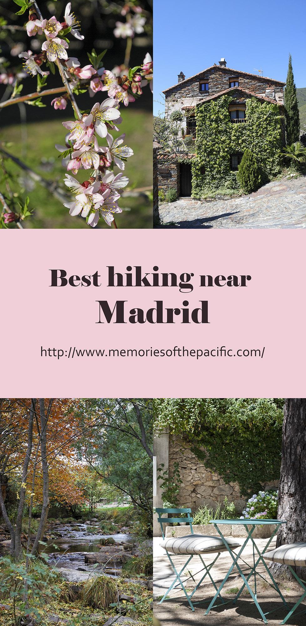 hiking near Madrid