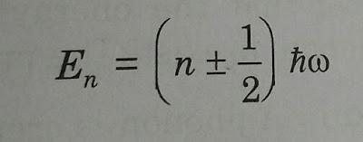 Energy of quantum oscillator