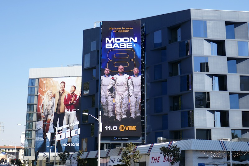 Moonbase 8 season 1 billboard