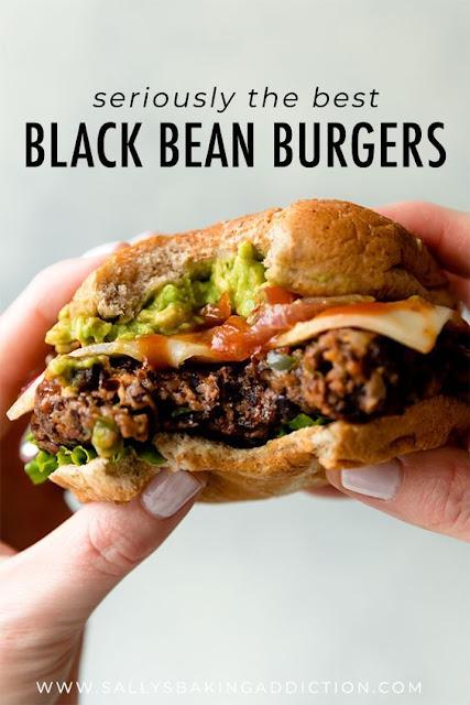 The Best Black Bean Burgers I've Ever Had