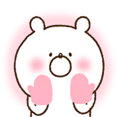 *Animated* Girly Bear for winter