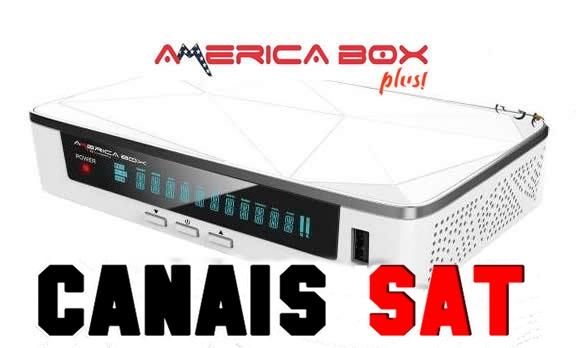 Americabox S205 + Plus Nova Atualização V1.25 - 20/07/2019
