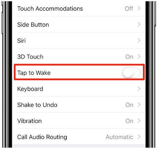 Cara Menonaktifkan Ketuk Untuk Mengaktifkan iPhone X
