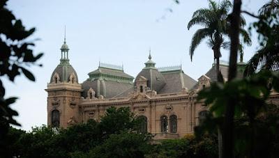Palácio das Laranjeiras; no Parque Guinle (Fernando Frazão/Agência Brasil)