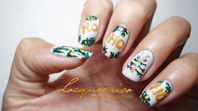 Lacqueerisa: HoHoHo Christmas Nails!