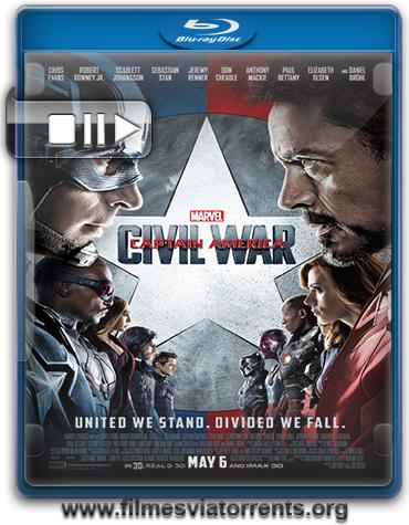 Capitão América: Guerra Civil Torrent - BluRay Rip 720p e 1080p Dual Áudio 5.1 (2016)