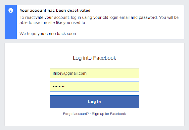 Deactivate My Facebook Account Temporarily | Close FB Account