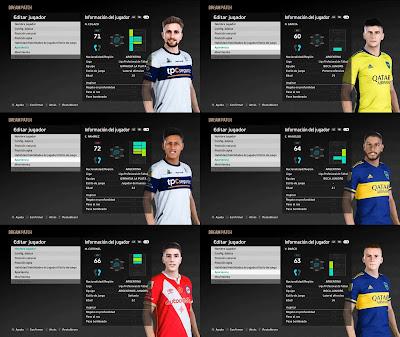 PES 2021 Facepack Liga Argentina 5 by Nicox