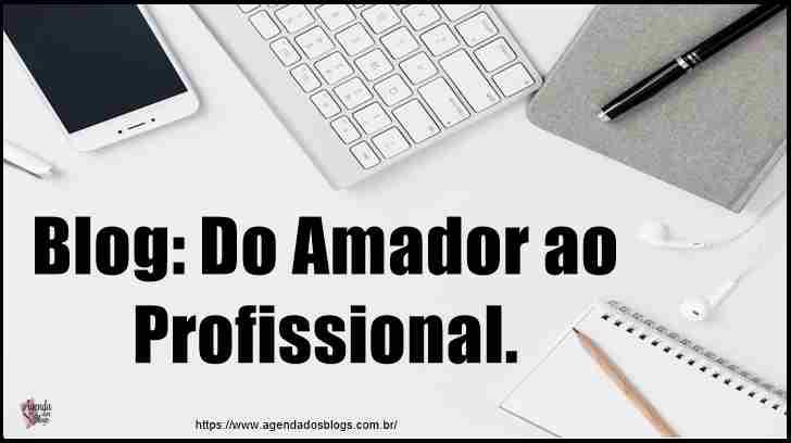 Identifique blog amador e profissional