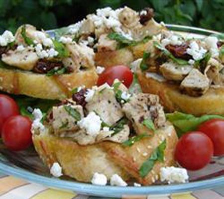 Chicken And Sun Dried Tomato Bruschetta Recipes