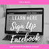 Facebook Acount Sign Up