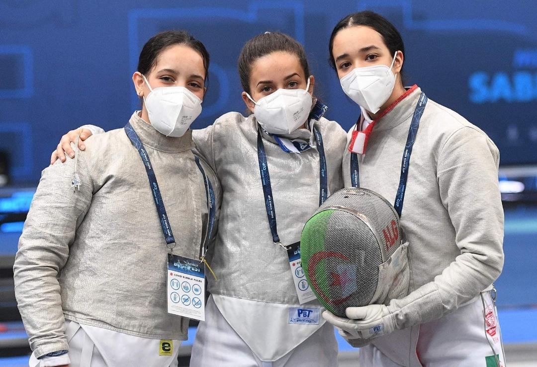 كأس العالم المبارزة: المنتخب الجزائري لسيدات في المركز 24