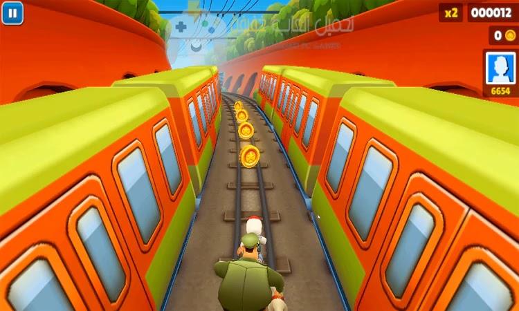 تحميل لعبة Subway Surfers للكمبيوتر من ميديا فاير
