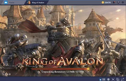 How To Play King of Avalon: Dragon War on Bluestacks