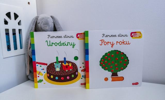 Czytam dziecku | Akademia Mądrego dziecka. Pierwsze słowa: Urodziny i Pory roku