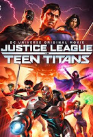 Justice League vs. Teen Titans (2016) Poster
