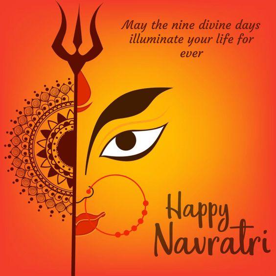 happy navratri wishes in hindi 2021