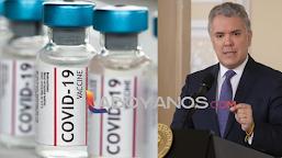 Las vacunas no llegarán si se rompe la confidencialidad con farmacéuticas; Duque