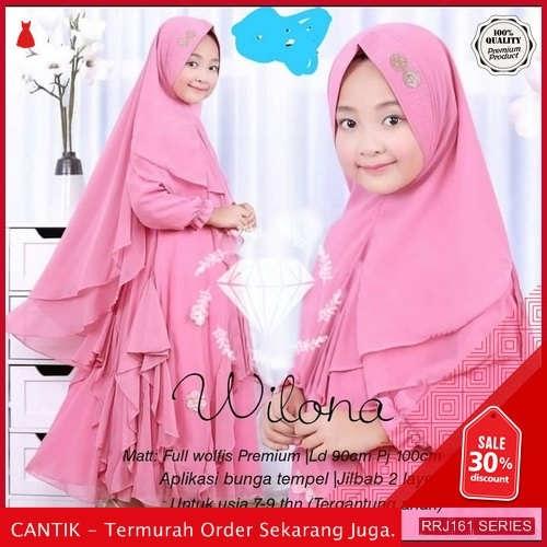 Jual RRJ161P169 Pakaian Anak Perempuan Wanita Wilona Syari Kids BMGShop